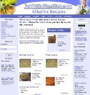 alkaline recipes